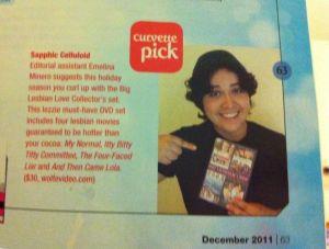 Featured in Curve Magazine